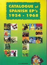 CATALOGUE OF SPANISH EP 's FROM 1954 TO 1968 THE HOLLIES EDDIE COCHRAN KINKS