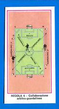 CALCIATORI 1974-75 Panini - Figurina-Sticker n. 101 - REGOLA 6 -ARBITRO GUAR-Rec