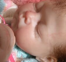 """Isabel"" reborn baby sculpted by Fiorenza Biancheri doll cute little infant"