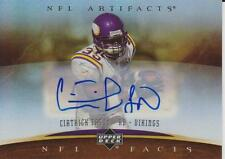 Ciatrick Fason 2007 NFL Artifacts AUTOGRAPHED Card VIKINGS