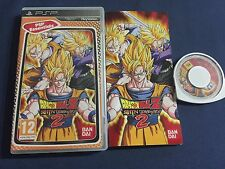 PSP : dragon ball Z shin budokai 2