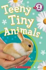 Teeny Tiny Animals kids fun early reader leveled learn to read book Scholastic