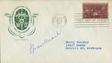 American Chemist JEROME ALEXANDER Signed Cover
