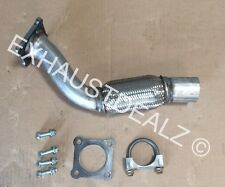 VW Volkswagen Jetta repair flex pipe catalytic converter repair 01 02 03 2.0L