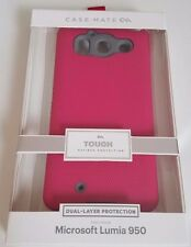 CASE-MATE Tough Case Cover - Microsoft Lumia 950 New, Dual Layer Pink Collection