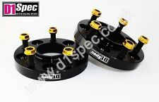 D1 SPEC FORGED WHEEL SPACERS 20mm 5x114.3 67.1 BLACK MITSUBISHI LANCER EVO 3000
