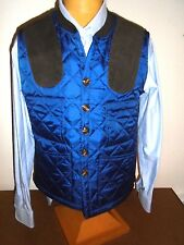 Southern Proper Quilted Jefferson Shooting  Vest  NWT XL $149.50 Navy Blue