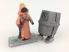 Scarce Star Wars Jawa And Gonk Droid - Commtech Loose Figures