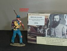 KING AND COUNTRY CW16 REBEL MARCHING WITH PIPE IN MOUTH METAL TOY SOLDIER FIGURE