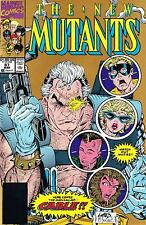 NEW MUTANTS #87 (1990) 2ND PRINT GOLD VARIANT COVER! 1ST CABLE MARVEL COMICS NM