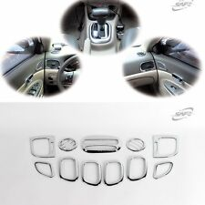 Chrome Interior Garnish Molding Trim Set for Hyundai Verna Accent 2006 2010