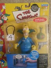 Simpsons Busted Krusty the Clown interactive figure.