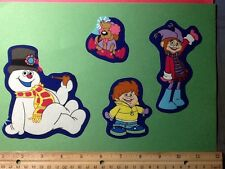 Frosty the Snowman Christmas Fabric Iron On Appliques style# 3
