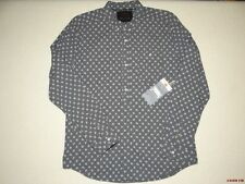New Billabong Mens Fleet Street Woven Long Sleeve Top Shirt Large