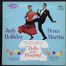 Judy Holliday Dean Martin BELLS ARE RINGING Film Score OST LP 60 André Previn UK
