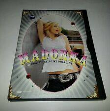 "Madonna - What It Feels Like for a Girl (DVD, 2001, DVD-Single) ""NEAR MINT DISC"""