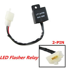 Electronic LED Flasher Blinker Relay 2 Pin Motorcycle Turn Signal Light Flasher