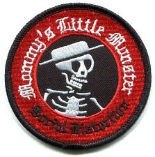 SOCIAL DISTORTION mommy's little monster IRON-ON PATCH **FREE SHIPPING** p0725