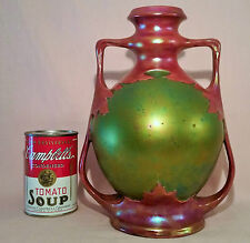 1873 Vienna World Exhibition Zsolnay eosin Art Nouveau antique pecs hungary vase