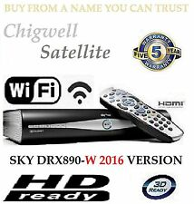 SKY + PLUS HD BOX WIFI - 500GB - AMSTRAD DRX890W BUILT IN WIFI ON DEMAND