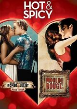 Hot & Spicy: William Shakespeare's Romeo + Juliet/Moulin Rouge (DVD, 2013,...