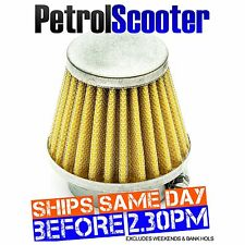 Pit Bike GAUZE K N AIR FILTER 42mm Fits 140cc Larger Bikes With 22mm Carbs