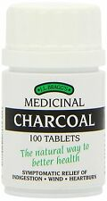 Bragg's Medicinal Charcoal Tablets 100 pack