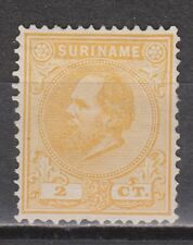 Suriname nr 2 MLH Willem III 1873-1889 FIRST SERIE
