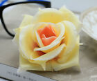20 pcs 8cm Rose simulation flowers silk flower heads wedding wholesale Champagne