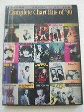 Complete Chart Hits 1990 Voice Piano Guitar 39 Songs Unmarked