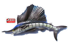 Sailfish,Game Fish ,Thailand 3D High Quality Resin TOY Fridge Magnet Free ship