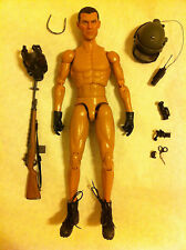"1/6 DAM TOYS RUSSIAN AIRBORNE TROOPS ""VDV"" IN CRIMEA Helmet Head Body Boots LOT"