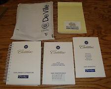 Original 1994 Cadillac Deville Owners Operators Manual Kit w/Bag 94