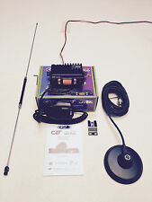 Radio CB TEAM MOBILE MINI COM COMPLETO Multi NORM AM FM STARTER KIT COMPLETO