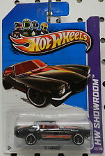 CHEVY CAMARO Z 28 Z28 1970 70 BLACK 221 2013 HW HOT WHEELS