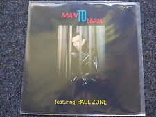 Man to Man featuring Paul Zone - Energy Disco Vinyl LP
