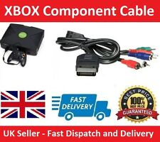 Microsoft XBOX Original Component AV VGA HD CABLE LEAD 720p HDTV (NEW UK Seller)