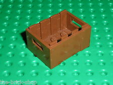 Caisse LEGO RedBrown container 30150 / set 10185 6243 10190 7775 7628 7626 7624