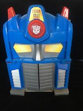 Grand Imaginext optimus prime transformers playset toy avec voix sonore