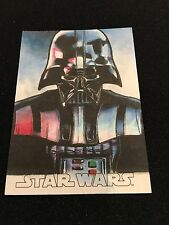 Topps Star Wars Sketch Card 1/1 Darth Vader Sp Evolution 2016 Cabaleiro