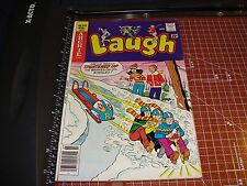 LAUGH #312 Archie Comics March 1977 Archie JUGHEAD Betty VERONICA Bobsled cover