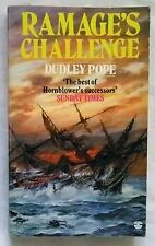 RAMAGE AT CHALLENGE by Dudley Pope (Fontana Paperback 1986) 1st
