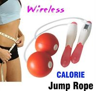 Digital Wireless Calorie Counter Jump Rope Device Losing Weight Exercise Fitness