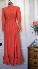 Laura Ashley Dress Vintage Victorian 60's Boho Prairie RARE Wales size 12