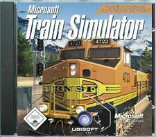 MICROSOFT  TRAIN SIMULATOR * Deutsch * V1.2 Trainsimulator BRANDNEU