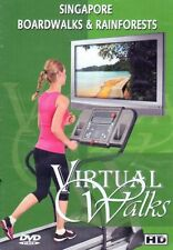 SINGAPORE BOARDWALKS AND RAINFORESTS VIRTUAL WALK WALKING TREADMILL WORKOUT DVD