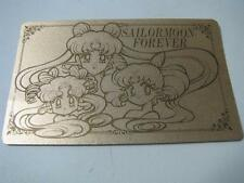 sailor moon Nakayoshi  Permanent membership card GoldJapan import