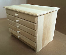 Pen Chest (100% SOLID OAK) - for ProMarkers, AquaMarkers, Copic Sketch, etc