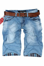 Brand New  Amazing AJ Men's d.g Short Jeans+Gift Belt Size 29