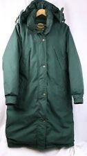 CABELA'S Green Goose Down Long Parka Waterproof Gore-tex Hooded Jacket Women S